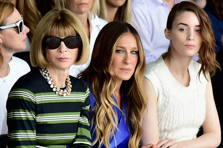 Calvin Klein Collection - Front Row - Mercedes-Benz Fashion Week Spring 2015
