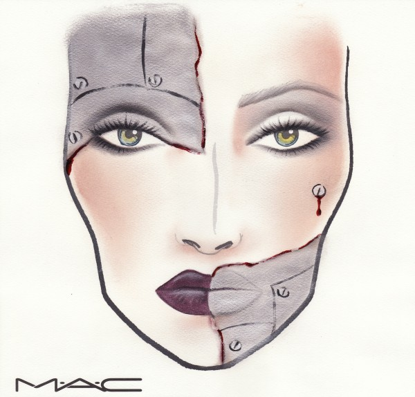 MAC Halloween Makeup