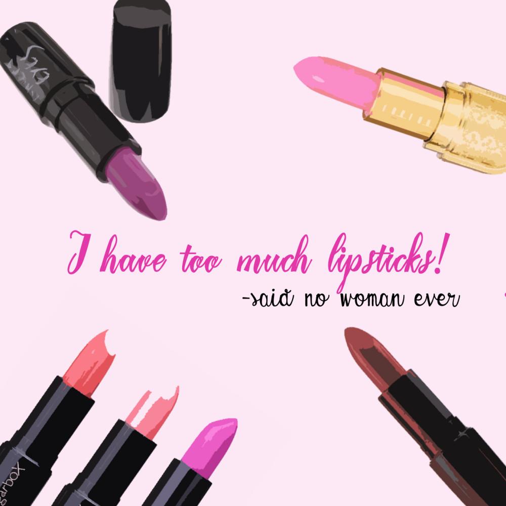 Lipstick graphic